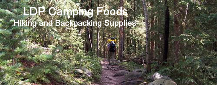 LDP Camping Foods - Hiking and Backpacking Freeze-Dried Food and Gear